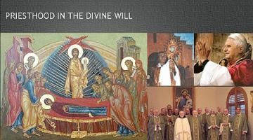 Priest in the divine will