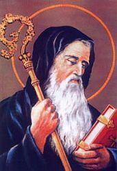 San Benito de Abad El Santo Exorcista