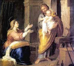 Sagrada Familia (Bartolomé Esteban Murillo, 1662)